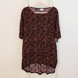 ☆2/$20☆ Lularoe♡ oversized Geometric irma tunic